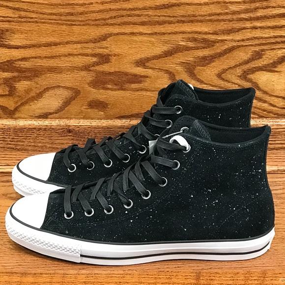 f1768df3d9999c Converse CTAS Pro Hi Black White Black Shoes